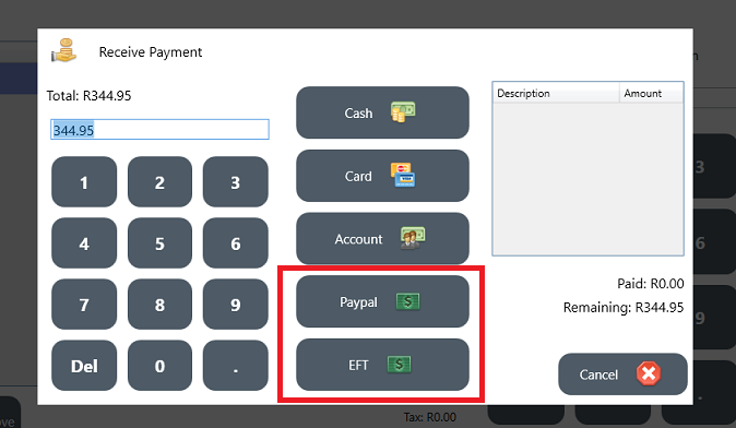 Additional Payment Options