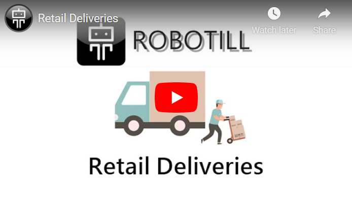 Retail delivery training video